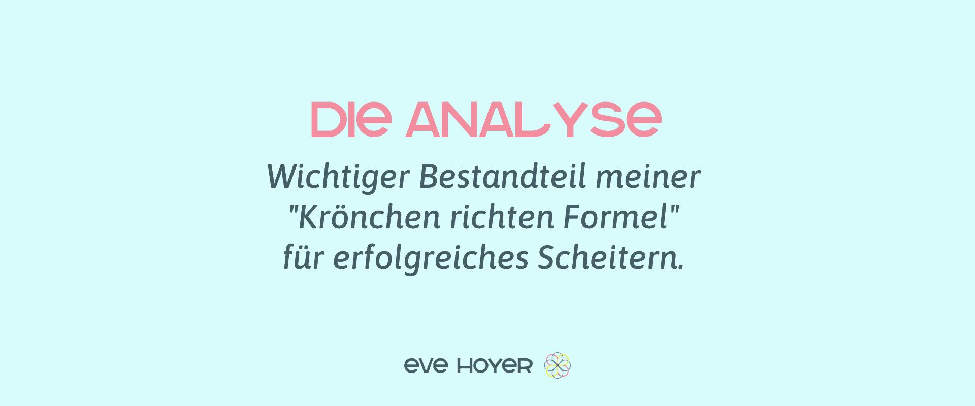 Analyse von Fehlern